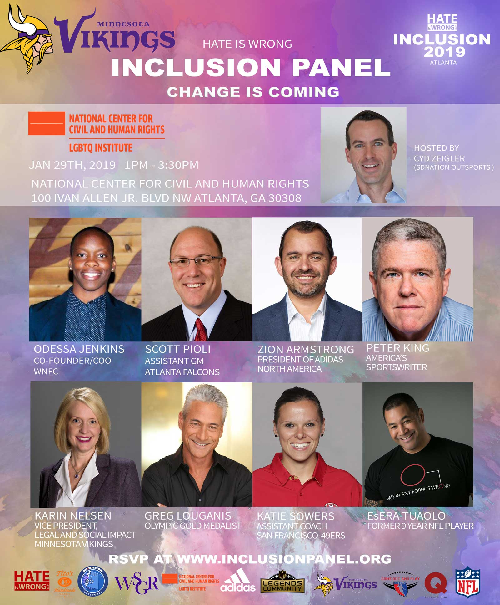Hate Is Wrong Inclusion Panel 2019