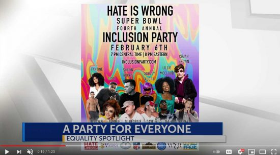 inclusion Party 2021 Celebrity Page Feature